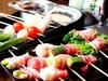 黒豚と新鮮野菜の串ししゃぶ