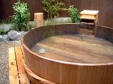 野の香 焼酎樽露天風呂