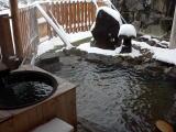 野々湯温泉 茅葺き宿貸切風呂