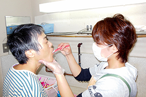 歯磨き支援