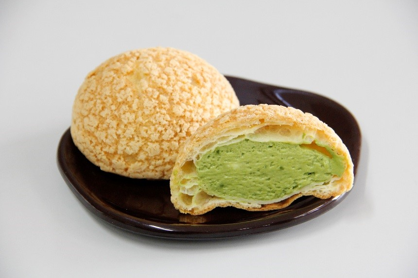 ◆抹茶シュークリーム(税込140円)
