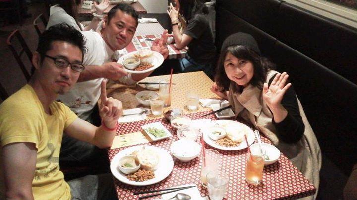 タイ料理 2014年6月1日 イッシー&よし兄