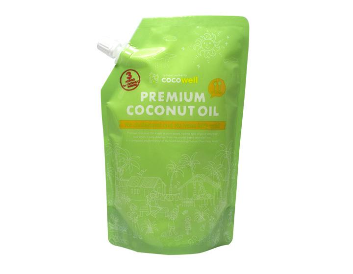 プレミアムココナッツオイルの写真