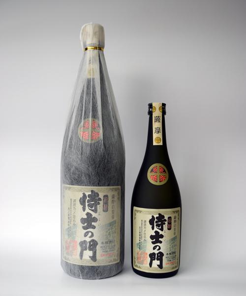 芋焼酎「侍士の門(さむらいのもん)」1800ml(25度) / 太久保酒造(鹿児島県志布志市)