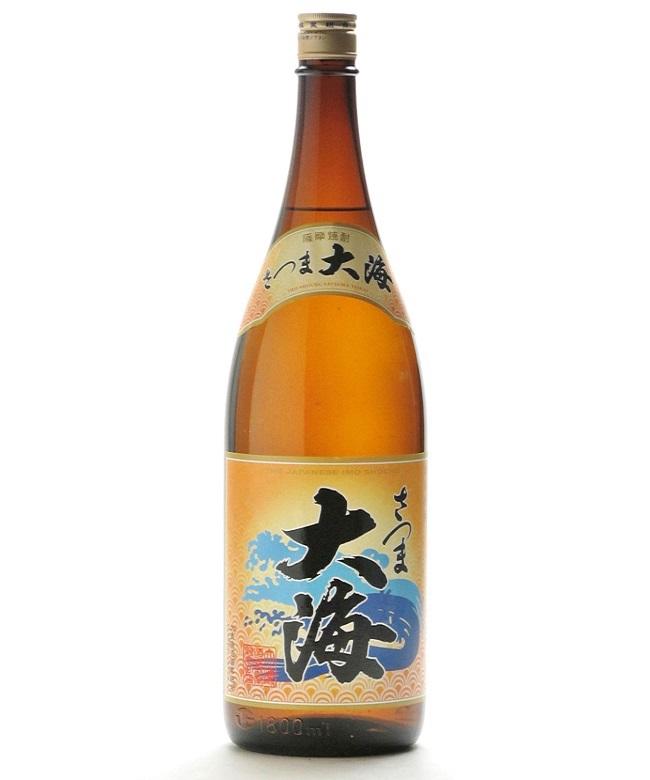 芋焼酎「さつま大海(たいかい)」1800ml(25度) / 大海酒造(鹿児島県鹿屋市)