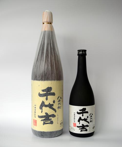 芋焼酎「千代吉(ちよきち)」1800ml(25度) / 八千代伝酒造(鹿児島県垂水市)