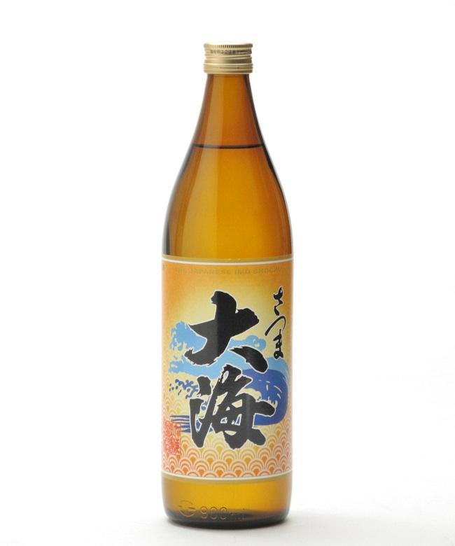 芋焼酎「さつま大海(たいかい)」900ml(25度) / 大海酒造(鹿児島県鹿屋市)