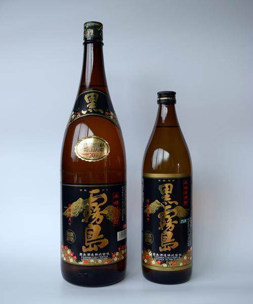 芋焼酎「黒霧島(くろきりしま)」900ml(25度) / 霧島酒造(宮崎県都城市)
