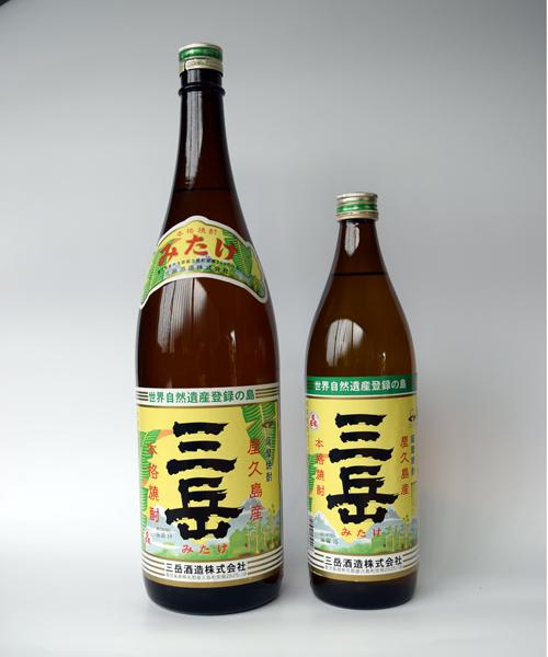 芋焼酎「三岳(みたけ)」900ml(25度) / 三岳酒造(鹿児島県屋久島町)
