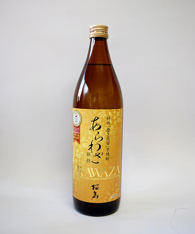芋焼酎「あらわざ 桜島」900ml(25度) / 本坊酒造(鹿児島県鹿児島市)