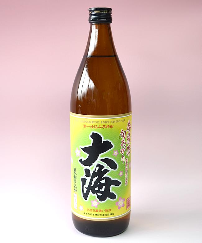 【春薩摩旬あがり】芋焼酎「大海(たいかい)」900ml(25度) / 大海酒造(鹿児島県鹿屋市)