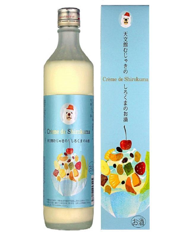 「天文館むじゃきのしろくまのお酒-Creme de Shirokuma-」500ml(10度) / 三和酒造(鹿児島県鹿児島市)
