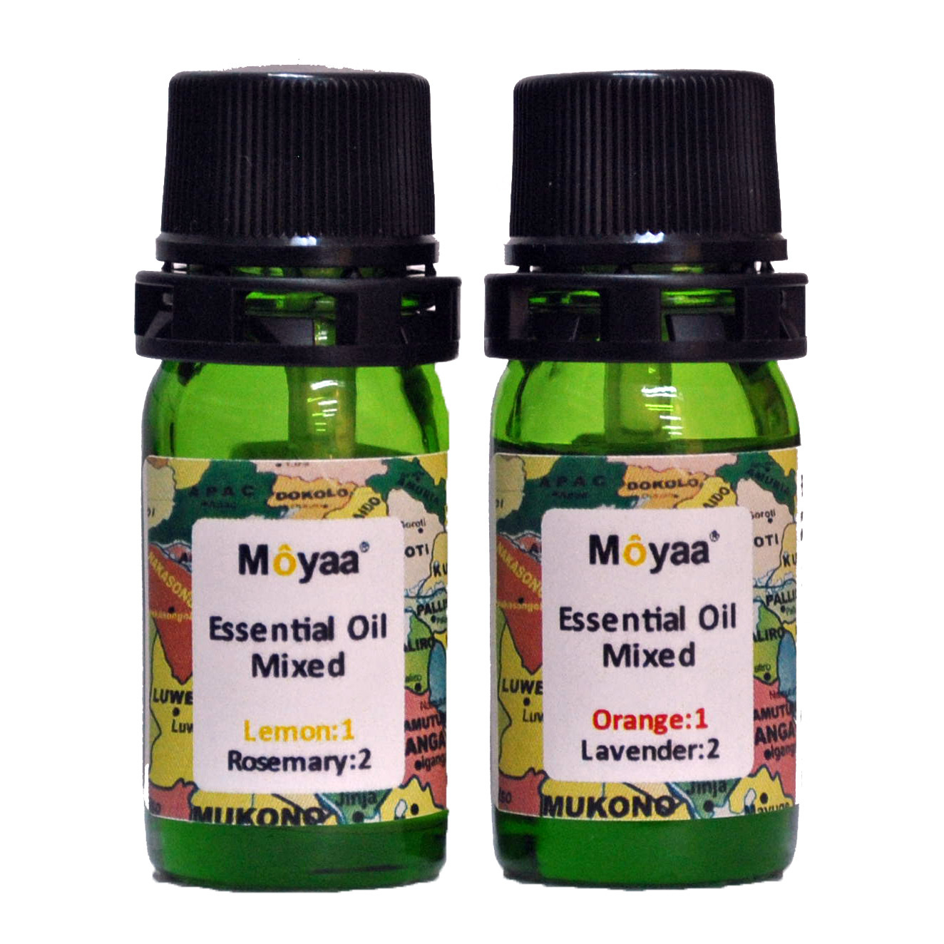Moyaa Essential Oil Mixed (Set of 2 bottles) </br>モーヤ・エッセンシャルオイル・ミックス(2本セット)